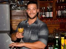 Campbell competes in the Fernet-Branca competition Photo courtesy of the Pensacola News Journal